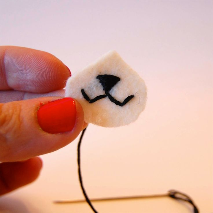 212 best tutorial amigurumi images on pinterest crochet dolls amigurumi fox muzzle tip cut a wide teardrop shape from white felt for the muzzle ccuart Image collections