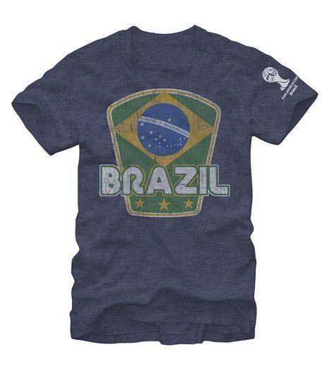 FIFA 2014 World Cup Soccer - Brazil - T-Shirt (Medium)