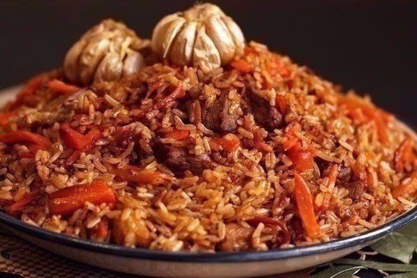 UZBEK PILAF #recipes #cooking #food #pilaf