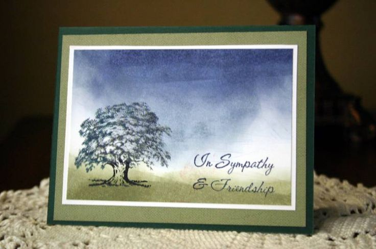 "By LovinTX at Splitcoaststampers. Uses stamp from Stampin' Up's ""Lovely As a Tree"" set."