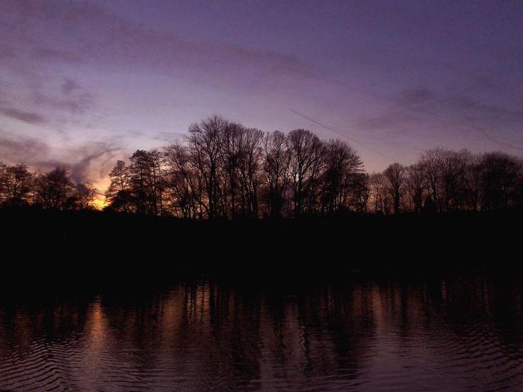 Randpop — #Sonnenuntergang in #Aachen am Hangeweiher #sunset...