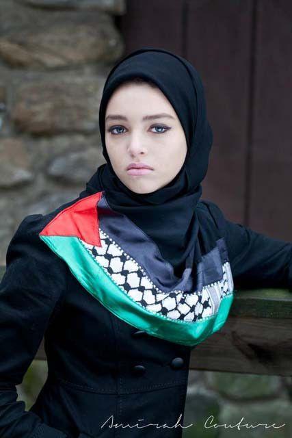 Noor Palestinian hijab style