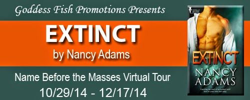 Crazy Four Books : Review ~ Extinct by Nancy Adams and a giveaway too...