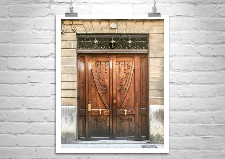Palma, Majorca, Spain, Architecture Art, Door Photography, Door Art, Mallorca, Spanish Architecture, Mediterranean Sea, Fine Art Print by MurrayBolesta on Etsy
