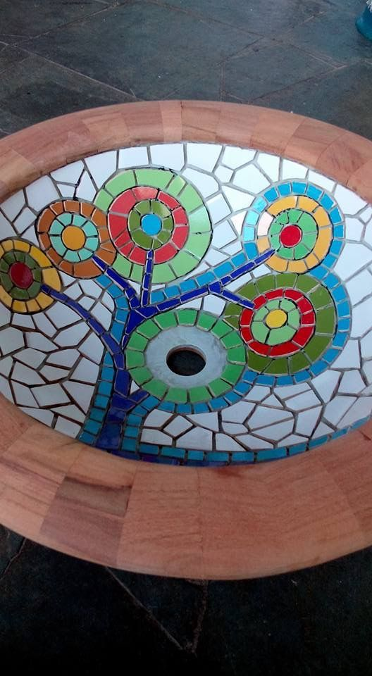Mosaic Bird Baths Mosaic Pots Mosaic Birds