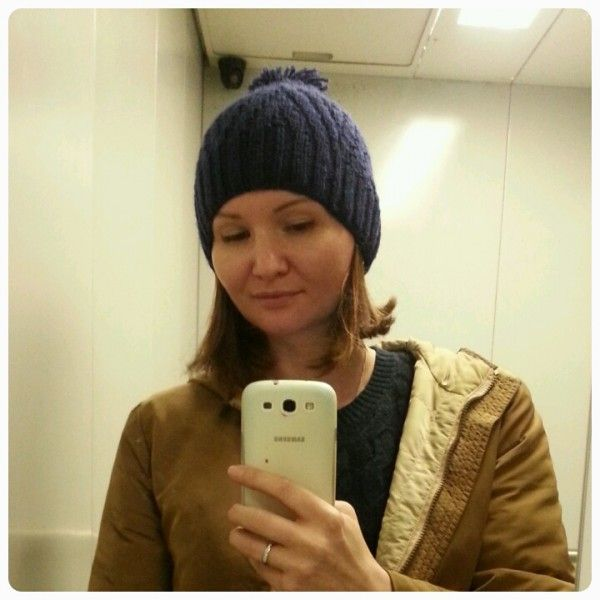 Любимая шапочка. Мой опыт вязания.