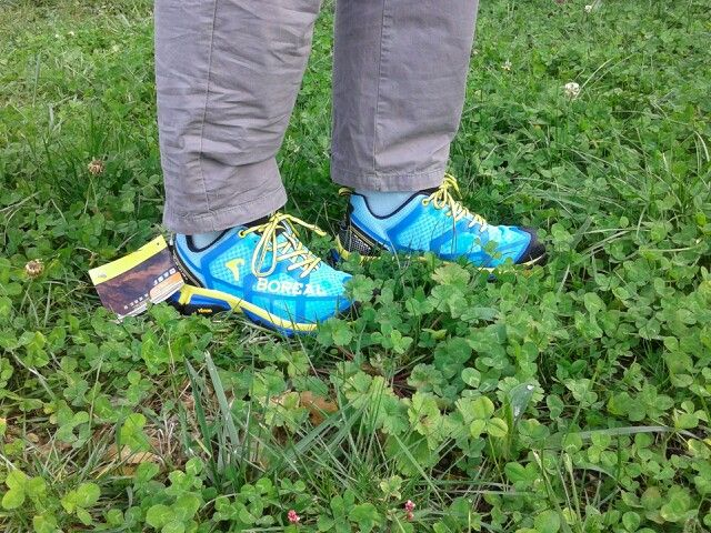 Estrenando bambas para Nordic Walking