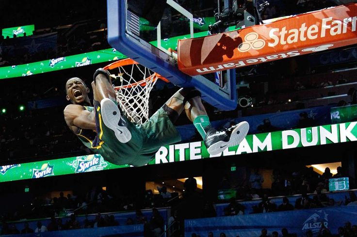 The winner of the 2012 NBA Slam Dunk Contest, forward Jeremy Evans is another player who has pogo-st... - Mike Ehrmann/Getty Images