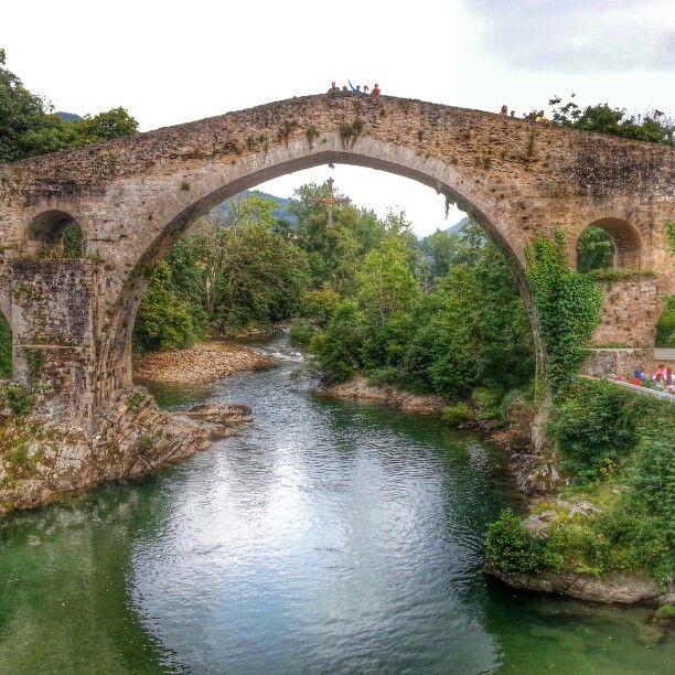 Cangas cangasdeonis Asturias España paisajes paraisonatural precioso lugares