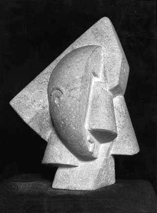 Joseph Csaky, Tete, 1920