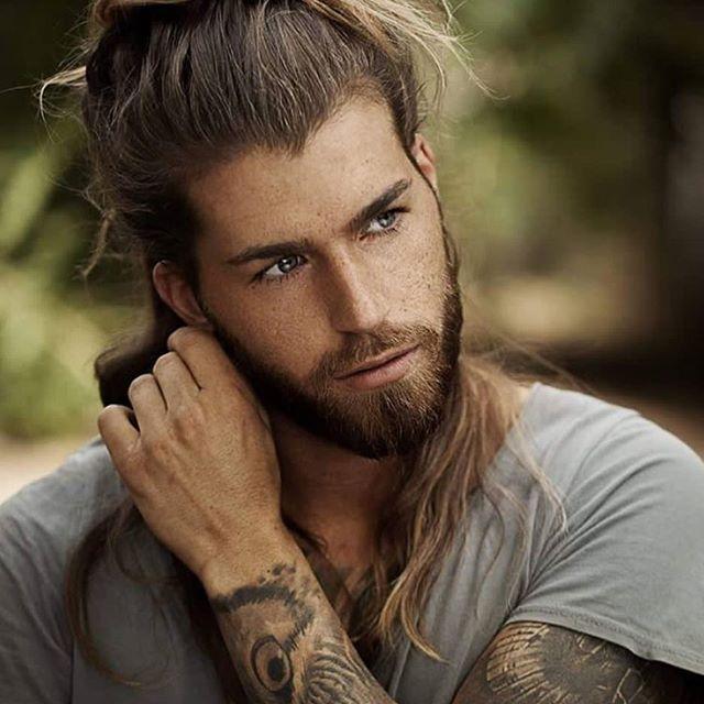 62 Trendige Männerfrisuren Lang in 2020 | Lange haare