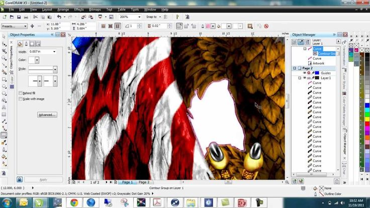 how to use bitmap in corel draw