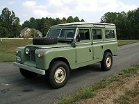 Land Rover Series II A  Station wagon considered to be the hardiest Series model