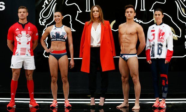 Stella McCartney's Team GB Rio 2016 Olympic Games Kit.