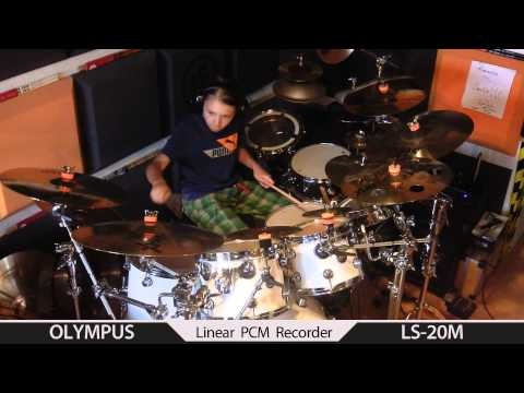 Luminol Steven Wilson drum cover by Igor Falecki (11 y old) - YouTube