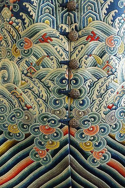 Chinese robe detail