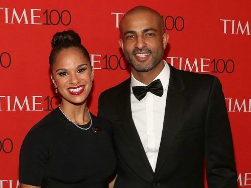 Congrats are majorly in order: Misty Copeland and Olu Evans got married this weekend!