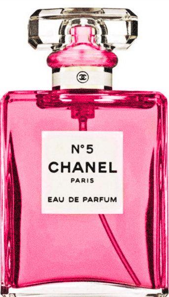 pink no. 5 Chanel Pink Fashion Perfume