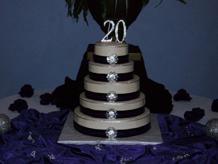 Platinum 20th wedding anniversary ideas