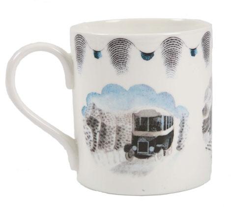 Travel Mug - Eric Ravilious