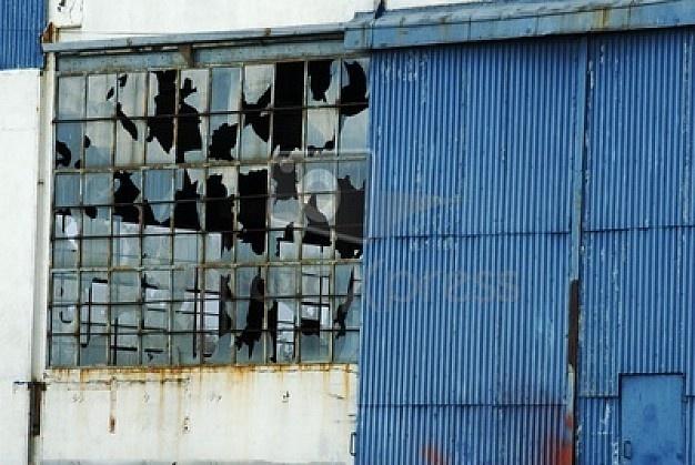 ruine usine abandonnée