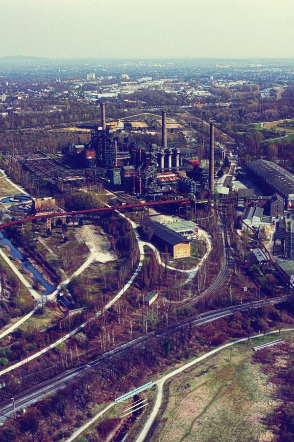 Landschaftspark, Duisburg (Duitsland)