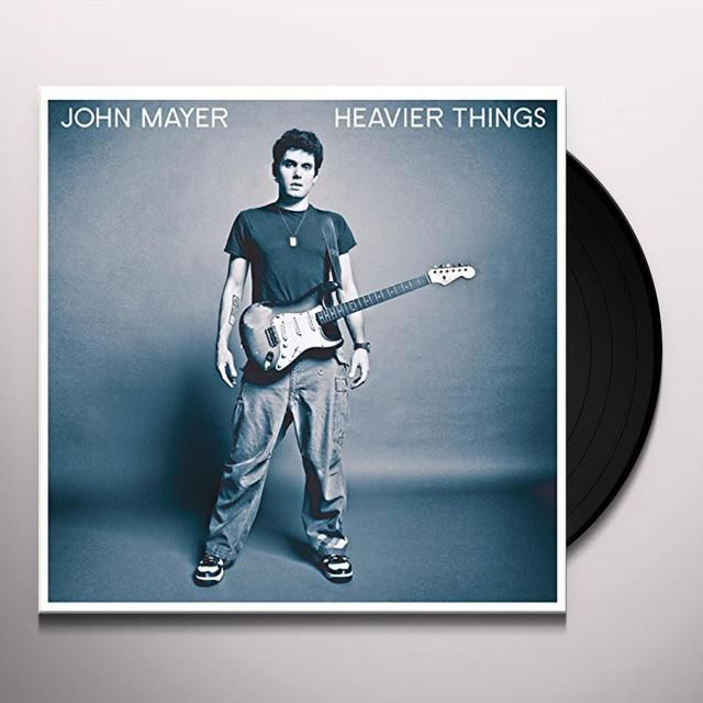 John Mayer HEAVIER THINGS Vinyl Record | https://www.merchbar.com/rock-alternative/john-mayer/john-mayer-heavier-things-vinyl-record