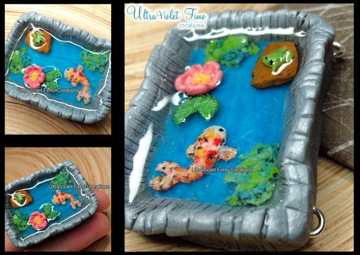 1000 images about miniature pond ideas on pinterest koi for Clay fish pond