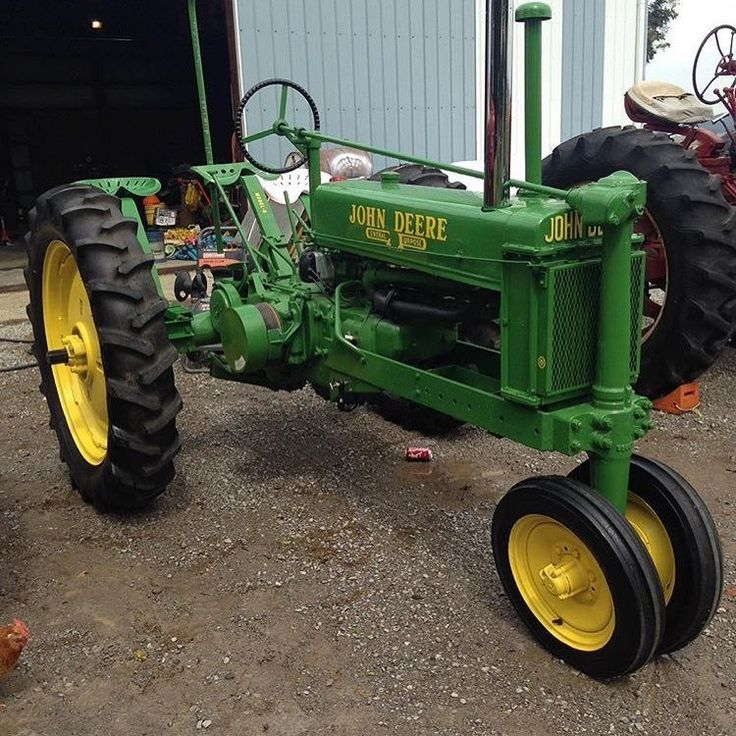 1938 John Deere G  ALL JOHN DEERE'S SOLD IN THE USA ARE MADE IN THE USA