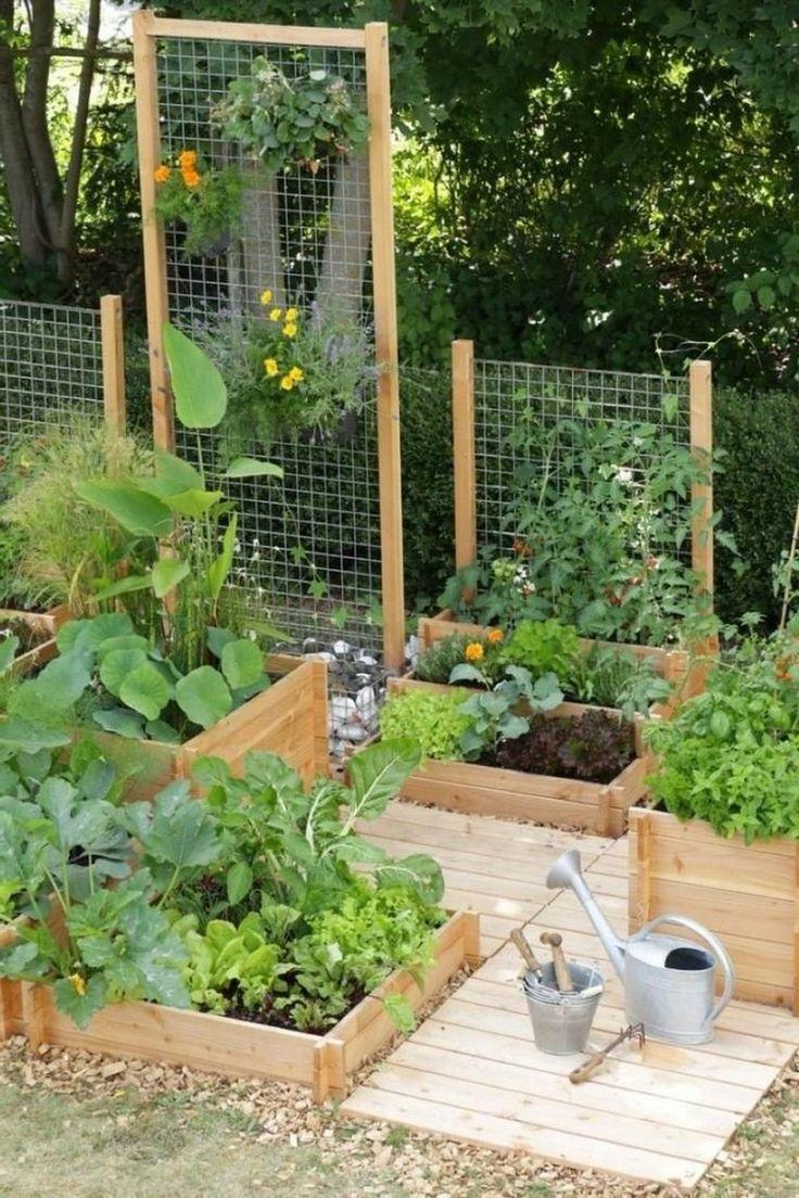 30 Exciting Small Backyard Landscaping Ideas On A Budget #backyard #backyardland