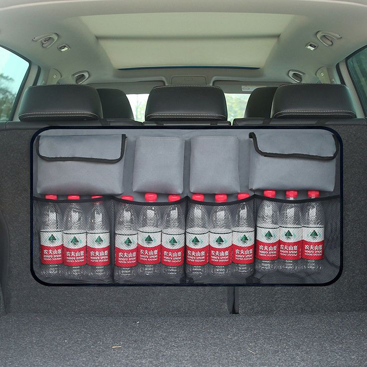 Auto Backseat Bag Car Trunk Storage Car Backseat Trunk Organizer For Car SUV MPV Car-styling