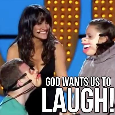 Watch Nina Conti perform the most unique - and hilarious - ventriloquist act at the Apollo theater! She uses human puppets in her act. She will make you laugh SO HARD! Just so awesome!