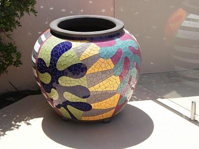 the gardens end: Mosaic Pots