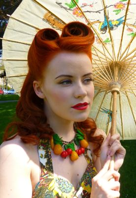 Oh how gorgeous is this colour and style for Autumn/Fall!  From the talented Pretty Me Vintage