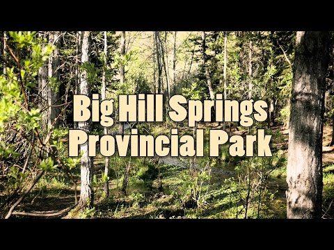 Summer at Big Hill Springs Provincial Park 4K Video – Journey Alberta