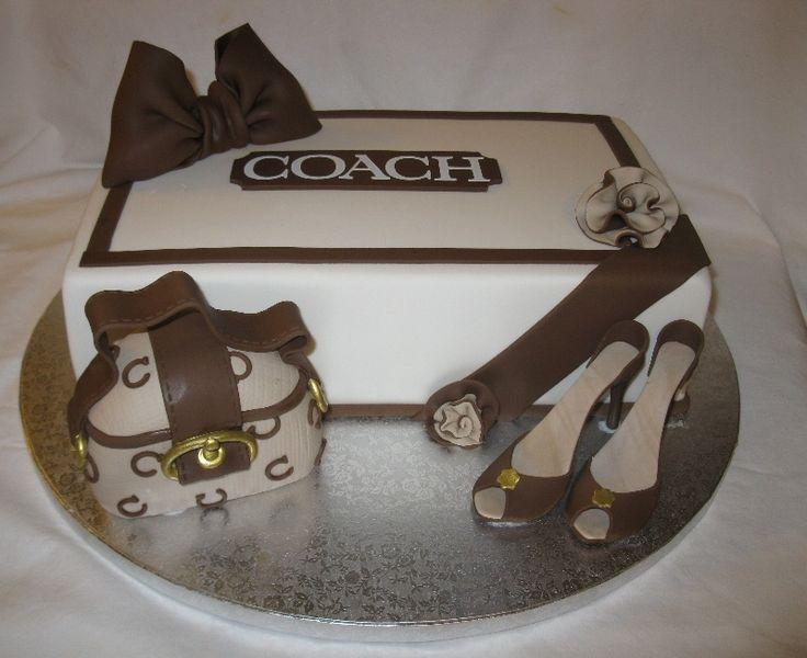 coach+purse+cake | coach bag shoebox high heels shoebox is cake coach purse i carved a ...