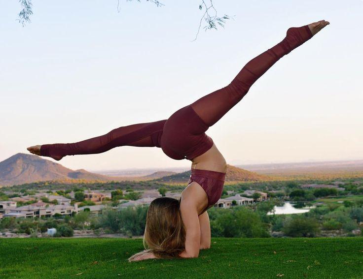 The Alo Yoga Mesh Goddess Legging #yoga #yogainspiration