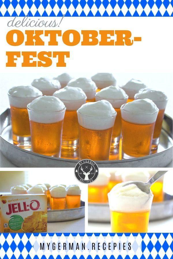 Oktoberfest Dessertbierkrüge – Celebrate Oktoberfest Party – #Celebrate #Dess