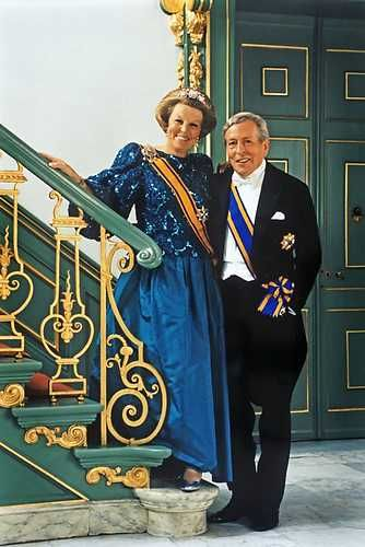 Beatrix & Claus. They loved each other very much. Wonderful man. We still miss him.