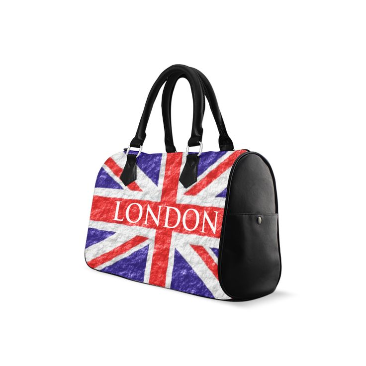 Union Jack Flag Barrel Handbag Barrel Type Handbag #justbyjulie #londonflag #handbag