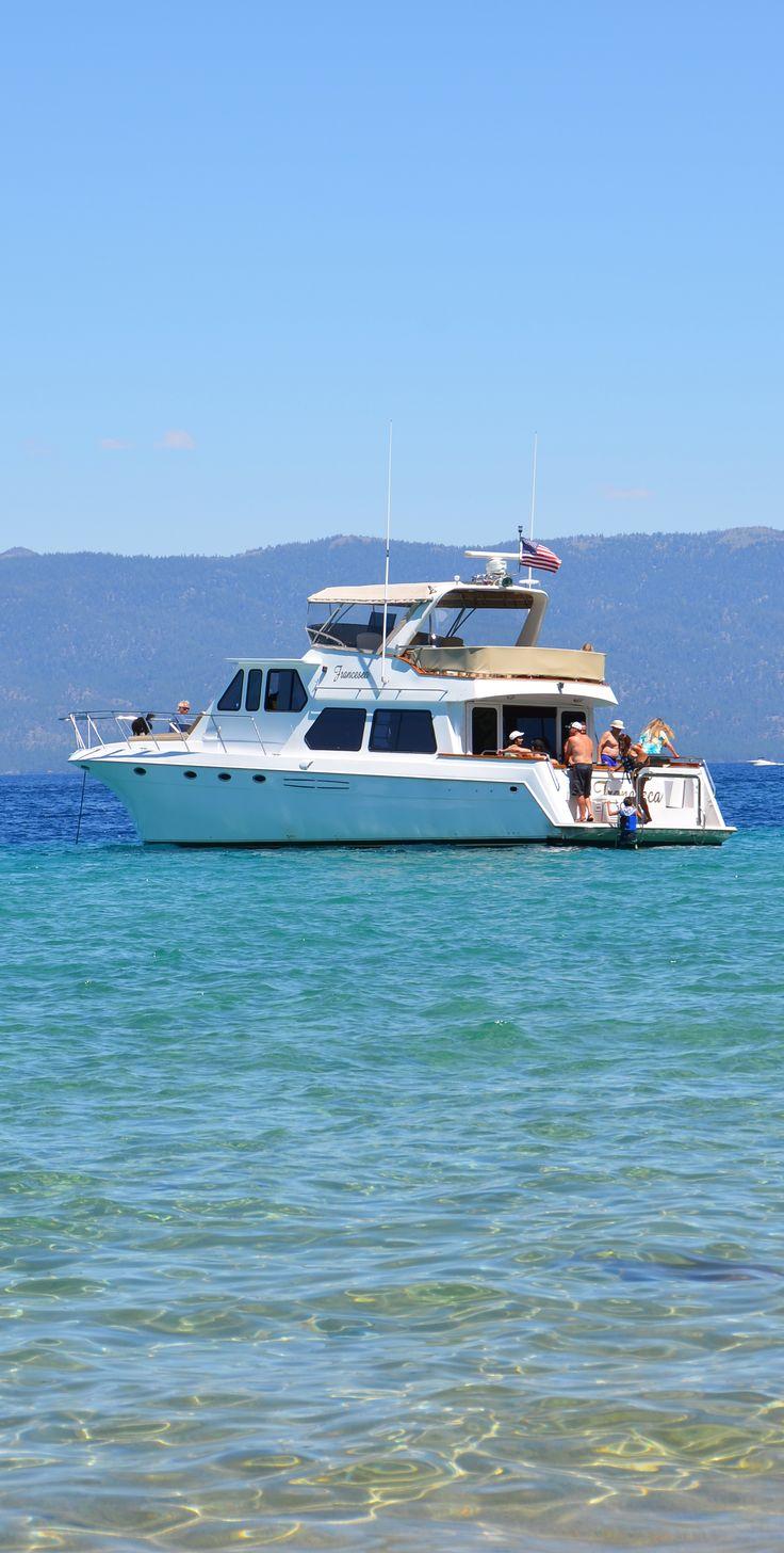 Boating on Lake Tahoe...simply paradise!