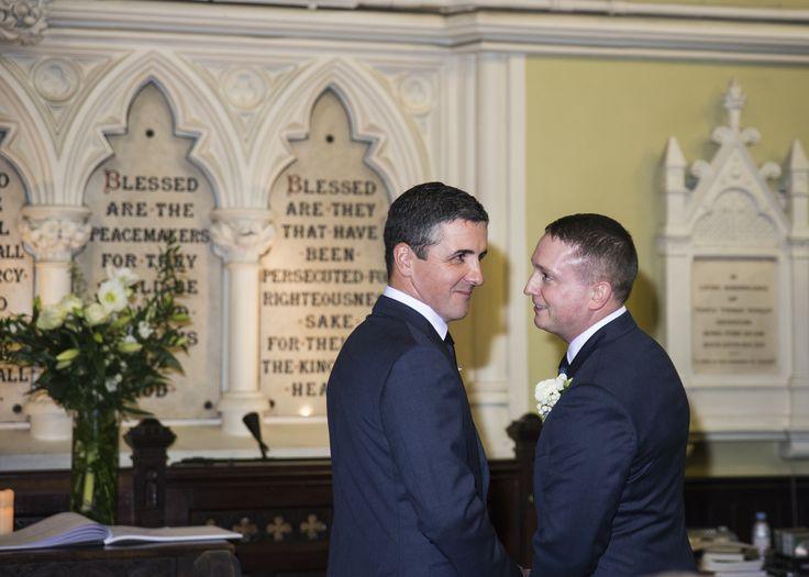 #wedding photography #church wedding #groom #best man www.emmamay.ie