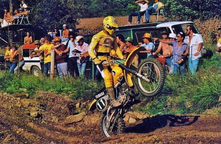 Broc Glover Vintage motocross, Dirt bike racing, Motocross