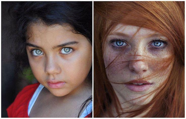 Portretfotografie met oogstrelend sprekende ogen