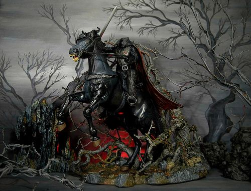 Sleepy Hollow Headless Horseman Horse McFarlane action ...