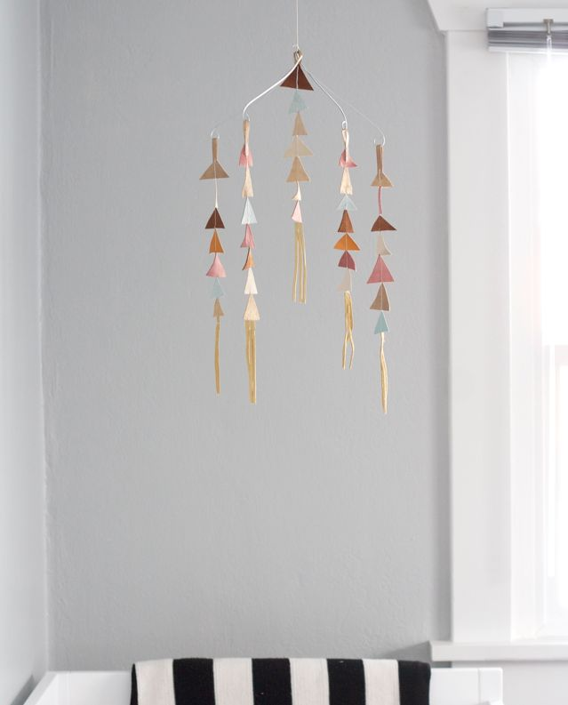 The Alison Show's Leather Triangle Mobiles