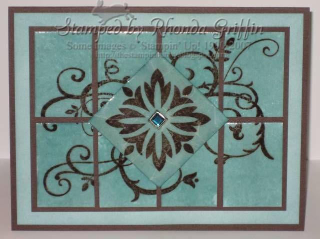 17 best images about stampin up set baroque motifs on. Black Bedroom Furniture Sets. Home Design Ideas