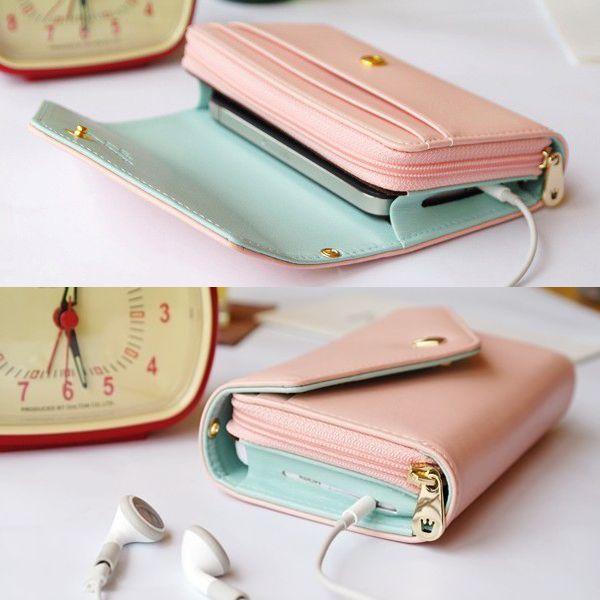 Θήκη Τσαντάκι Handbag Crown Case OEM Ροζ (iPhone 4/5, Galaxy S3/S4, Note 2/3, HTC One/M8) - myThiki.gr - Θήκες Κινητών-Αξεσουάρ για Smartphones και Tablets - Χρώμα Ροζ