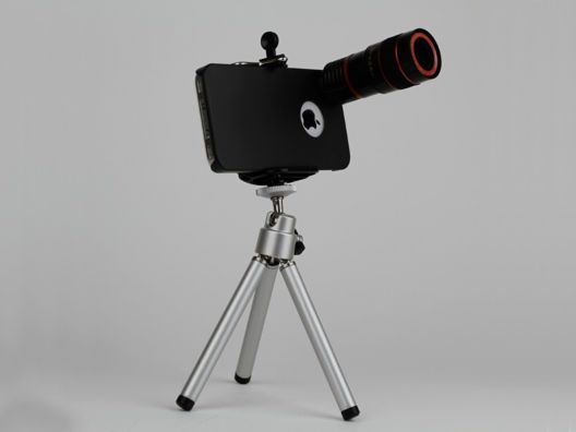 """8x Telephoto Lens Kit for iPhone 4/4S by Yamamoto Industries from Kurt """"CyberGuy"""" Knutsson on OpenSky: Gadgets Technology, Yamamoto Industrial, 8X Lens, Iphone 4 4S, Iphone 44S, Iphone Telephoto, 8X Telephoto, Iphone Accessories, Knutsson"""