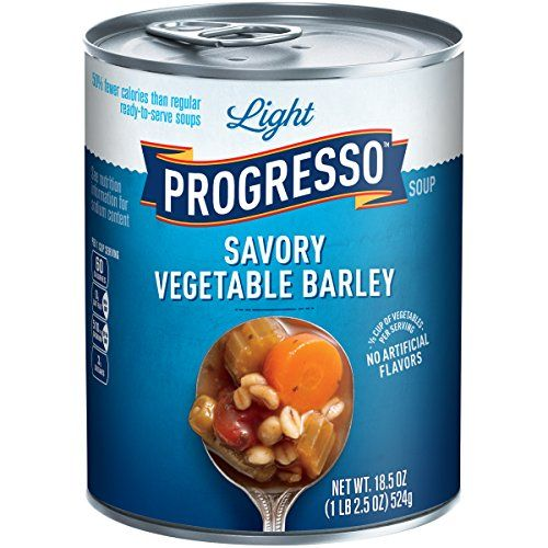 Progresso Soups Light Soup Savory Vegetable Barley 185 Ounce >>> You can find out more details at the link of the image.